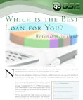 Which Loan is Best For You?