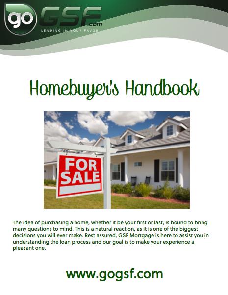Homebuyer's Handbook - GoGSF